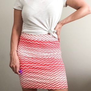 Forever 21 | pink Cotton Bodycon Skirt